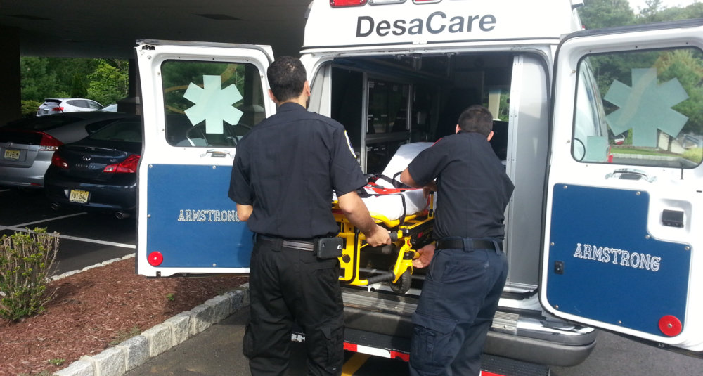 desacare medical transportation team